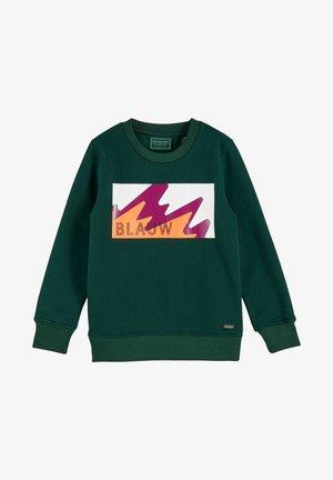 Sweatshirt - green smoke