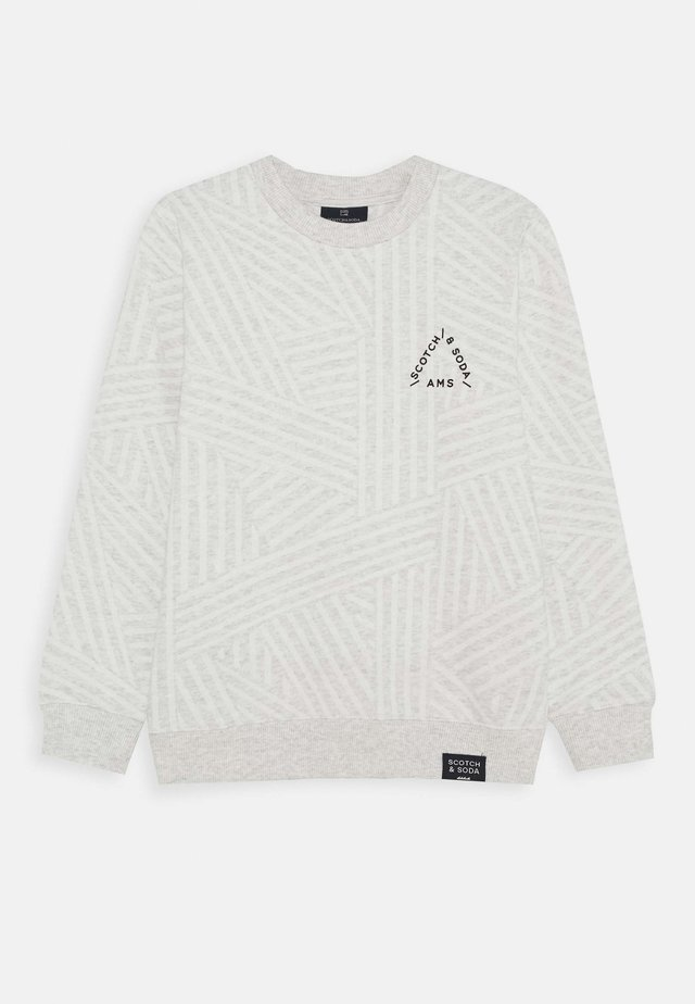 CREW NECK - Felpa - grey