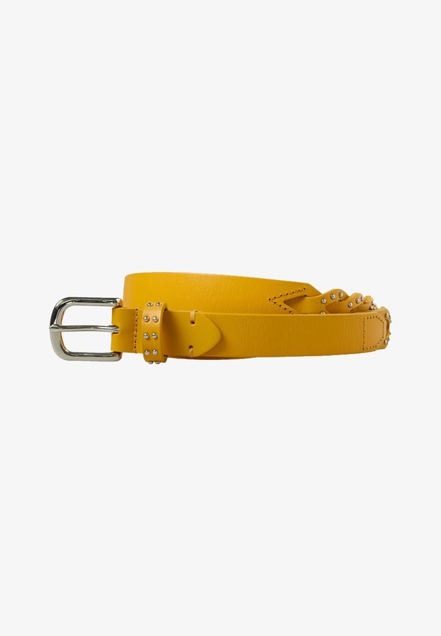 Belt - faded yellow