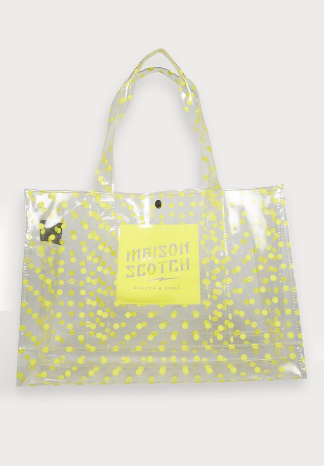 CLEAR PRINTED - Handtas - yellow