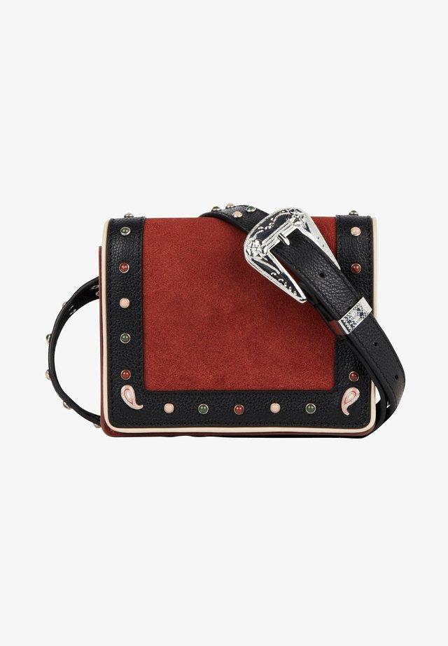 WESTERN  - Bum bag - red/black
