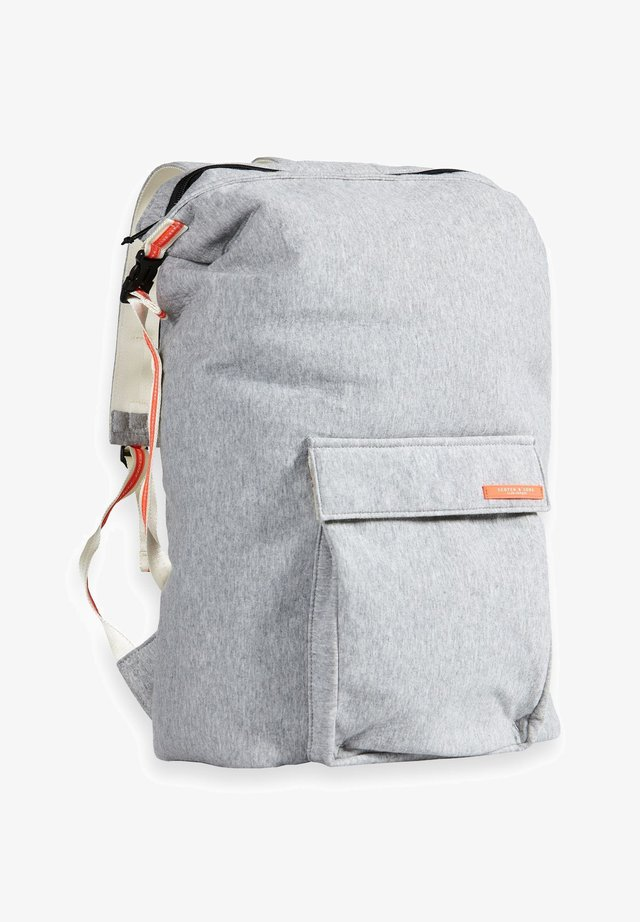 Rucksack - grey melange