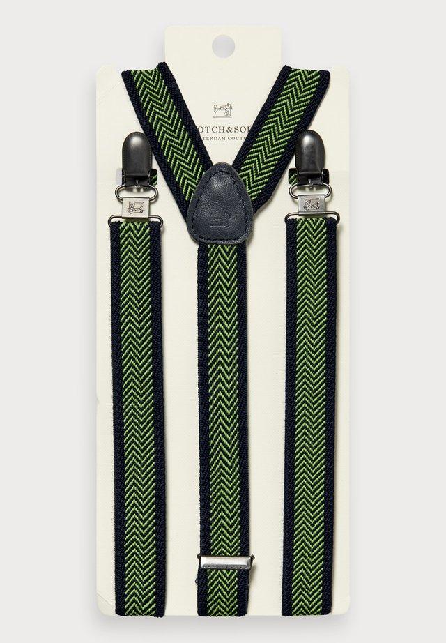 ELASTIC SUSPENDERS - Belt - green