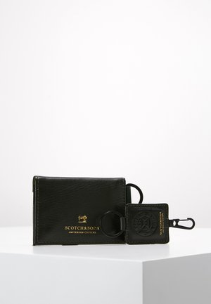 GIFT BOX WITH FOLDED CARD WALLET AND KEY RING - Lommebok - combo