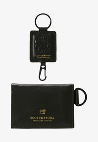 Scotch & Soda - GIFT BOX WITH FOLDED CARD WALLET AND KEY RING - Peněženka - combo - 1