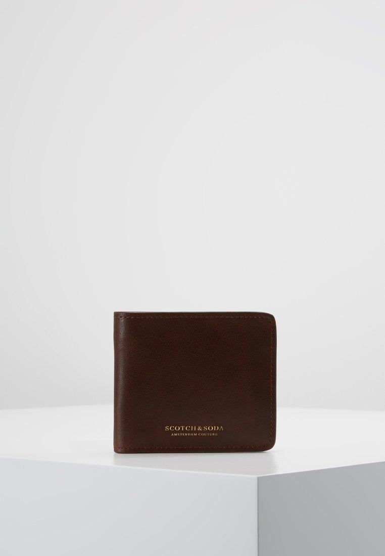 Scotch & Soda - CLASSIC BILLFOLD WALLET - Geldbörse - brown