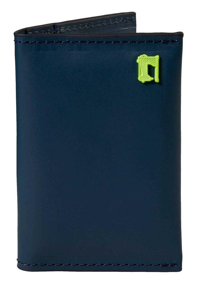Business card holder - slate blue