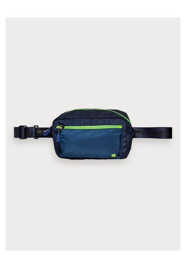 CONVERTIBLE - Bum bag - neon blue