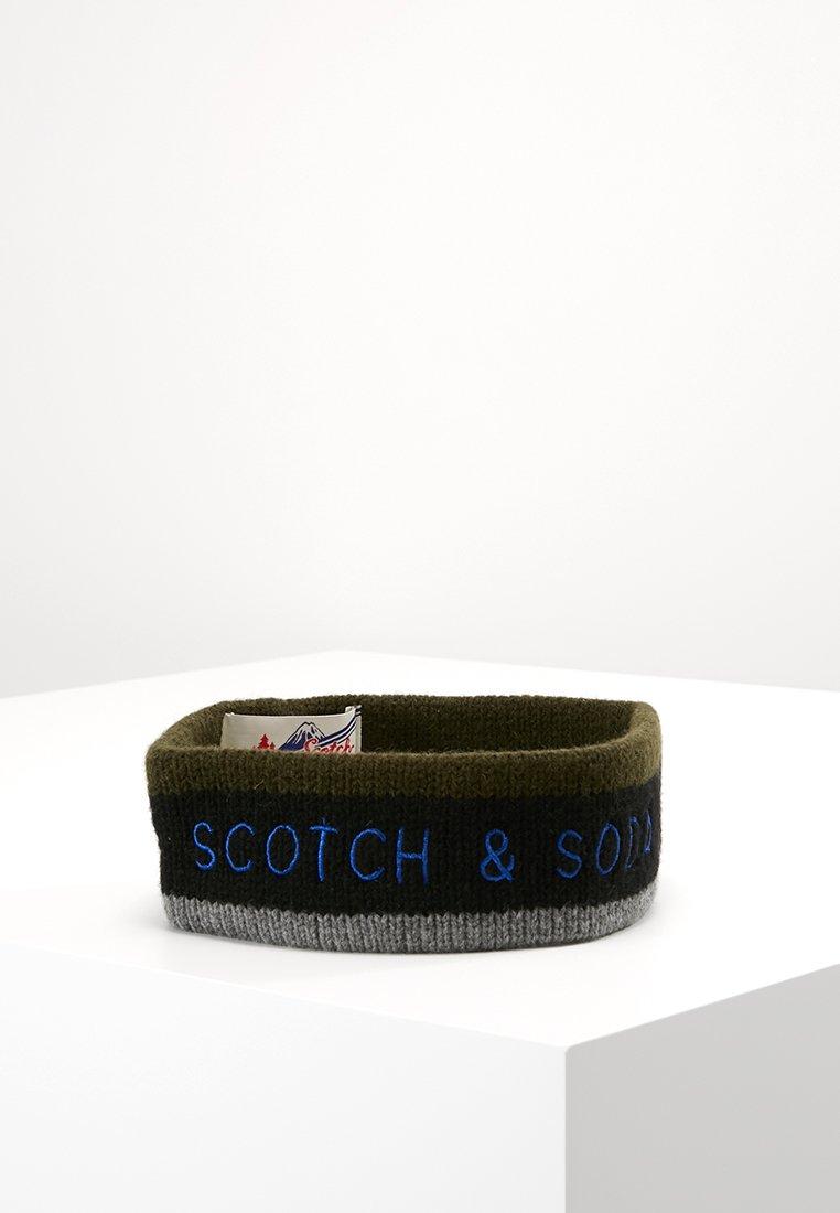 Scotch & Soda - CHUNKY HEADBAND WITH LOGO ARTWORK - Čelenka - combo