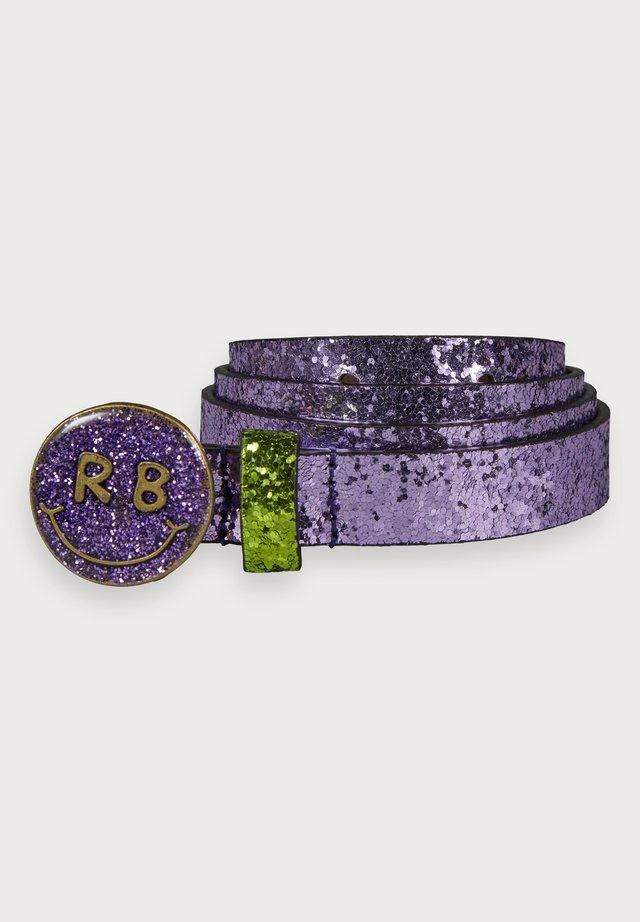 GLITTER  - Gürtel - purple