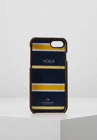 Scotch & Soda - CLASSIC COVERED IPHONE 8 CASE - Mobiltasker - brown - 3