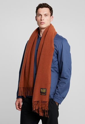 CLASSIC WOVEN WOOL - Scarf - wood block