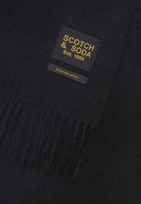 Scotch & Soda - CLASSIC WOVEN WOOL - Sjaal - black - 3