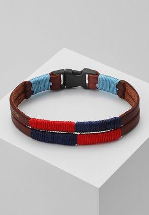 CLASSIC BRACELET - Náramek - brown/red