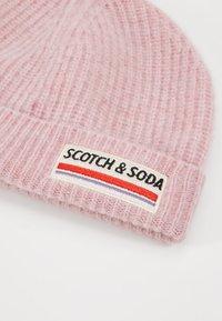 Scotch & Soda - BEANIE IN SOFT - Beanie - pink smoke - 5