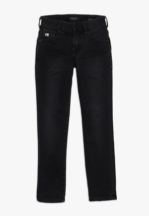 STRUMMER - Slim fit jeans - freerunner black