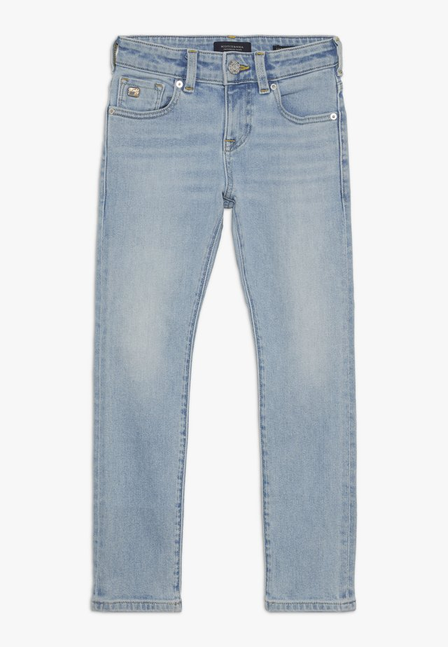 STRUMMER  - Jeans relaxed fit - paint it blauw