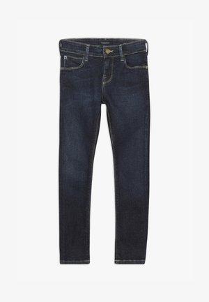 SUPER SKINNY - Jeans Skinny Fit - dark-blue denim