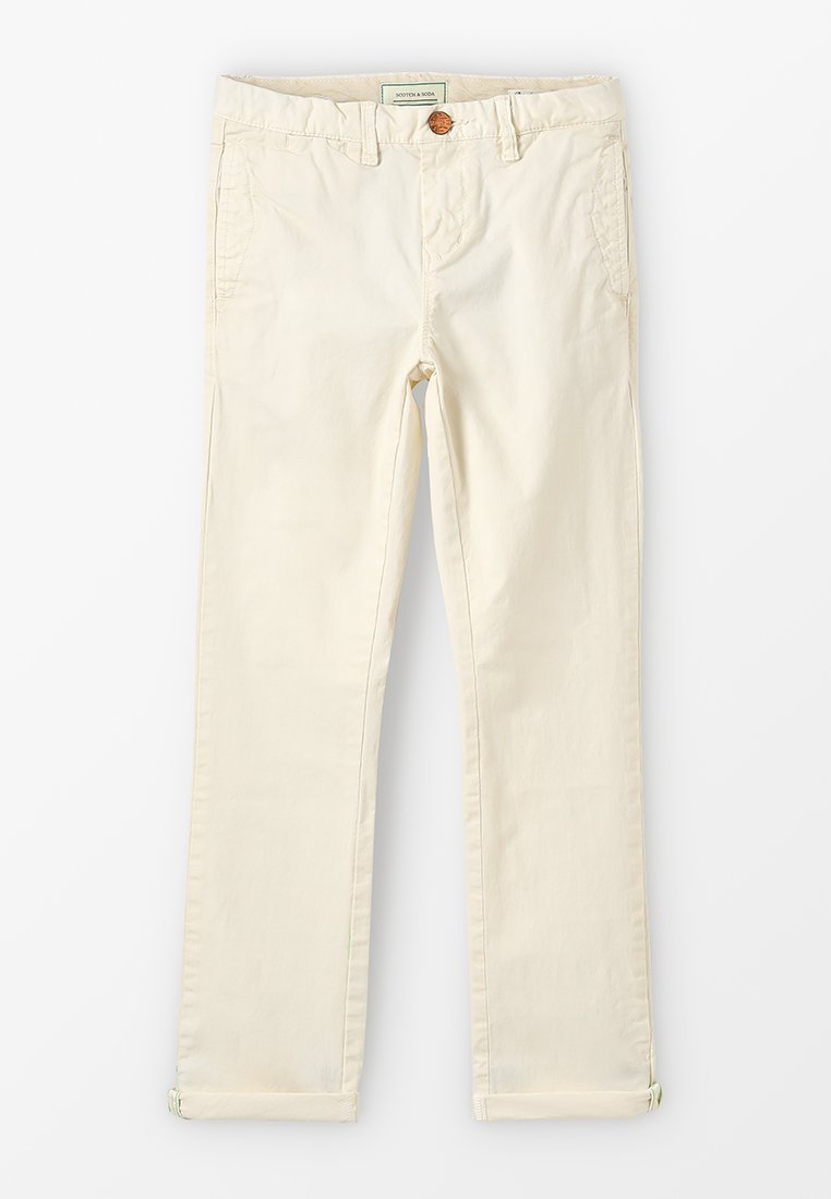 Scotch Shrunk - SLIM FIT CLASSIC  - Chino - off white