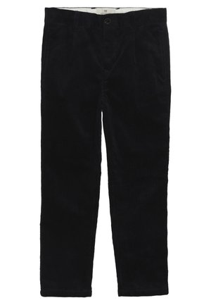 LOOSE TAPERED FIT PANTS - Trousers - night