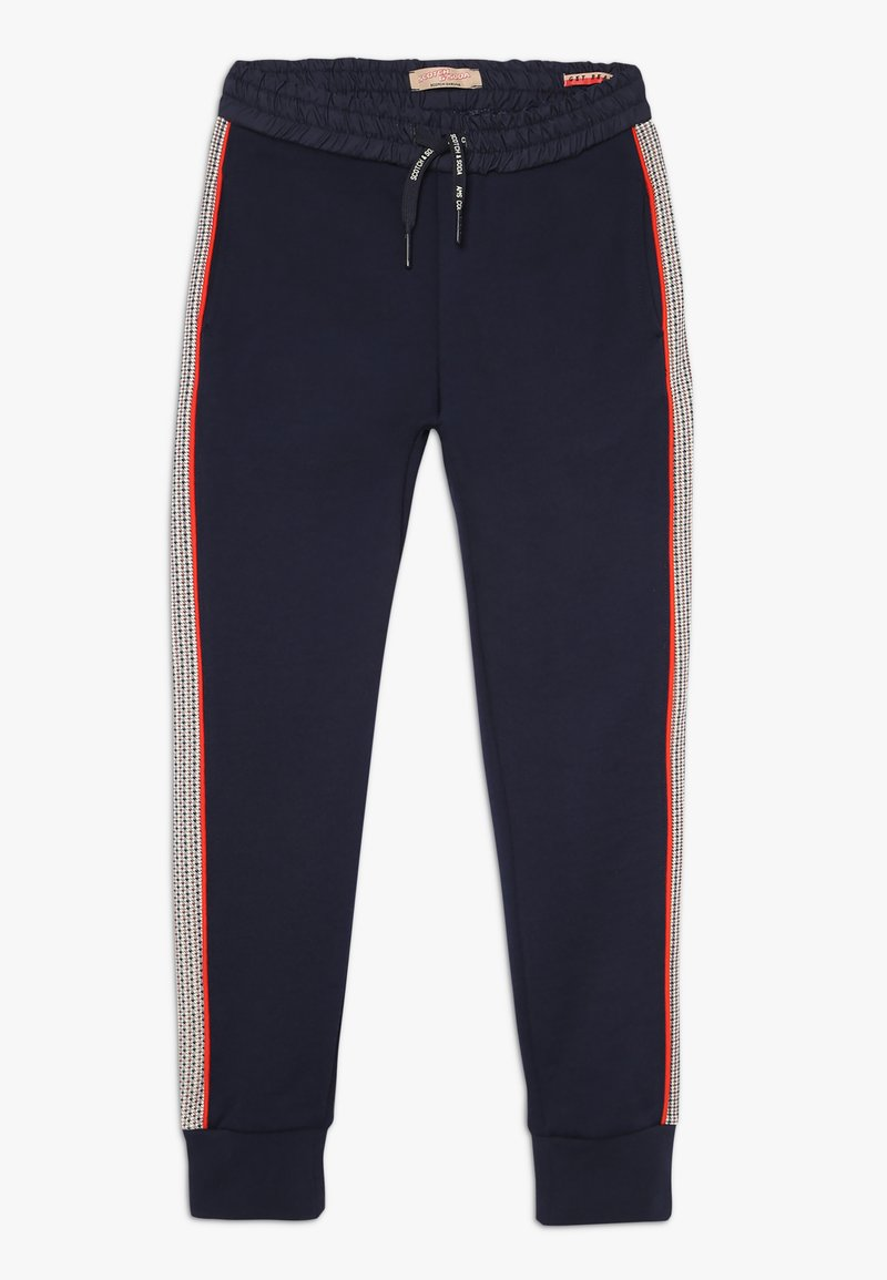 Scotch & Soda - WITH CUT AND SEWN PANELS - Tracksuit bottoms - night
