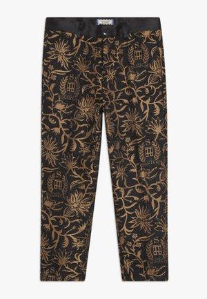DRESSED PANTS - Trousers - black