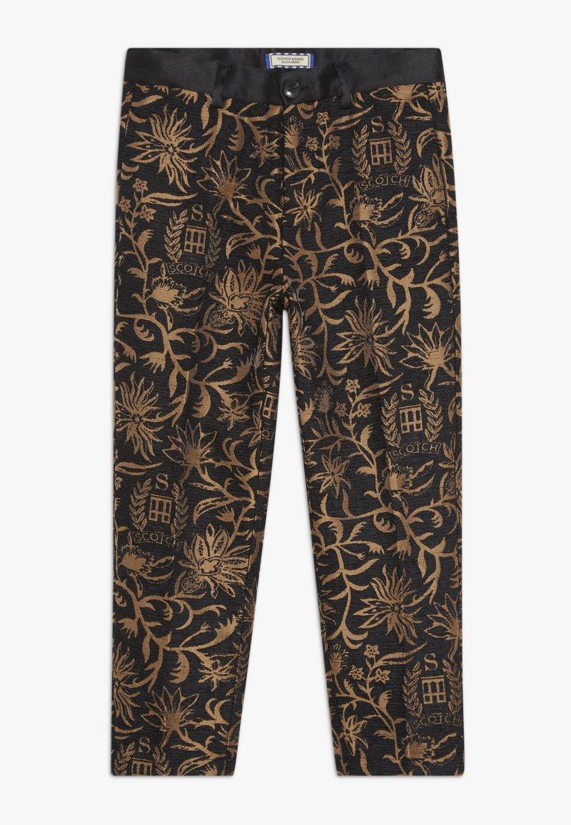 Scotch & Soda - DRESSED PANTS - Kalhoty - black