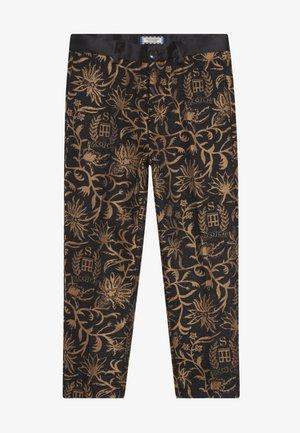 DRESSED PANTS - Stoffhose - black