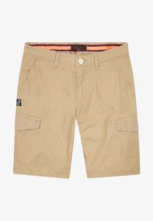 Pantalones cargo - sand