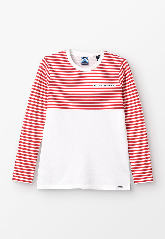 REGULAR LONG SLEEVE WITH DIFFERENT STRIPE ARTWORKS - Maglietta a manica lunga - combo