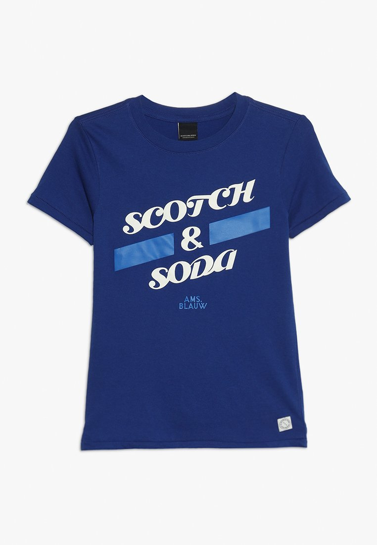 Scotch Shrunk - SHORT SLEEVE LOGO TEE - T-shirts print - yinmin blue