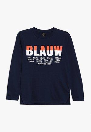 BLAUW  - Top sdlouhým rukávem - navy