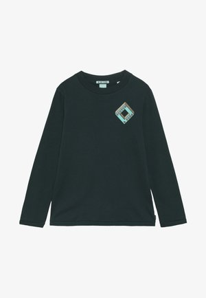 LONG SLEEVE LOGO TEE - Top s dlouhým rukávem - bottle green