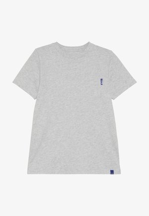 CLASSIC POCKET TEE - T-shirt basique - grey melange