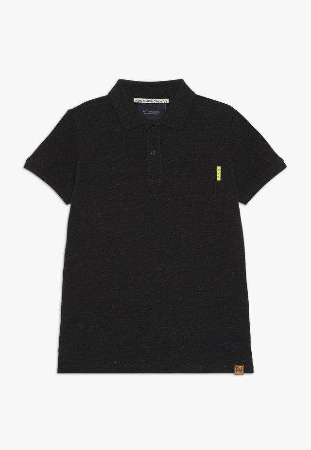 GARMENT DYED - Poloshirt - antra melange