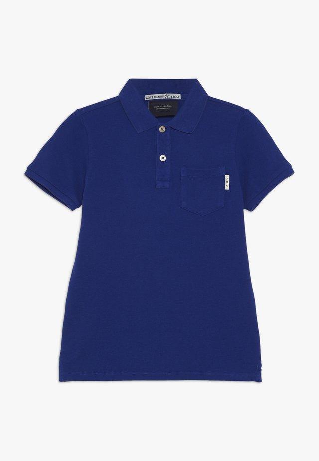GARMENT DYED - Poloshirt - true blue