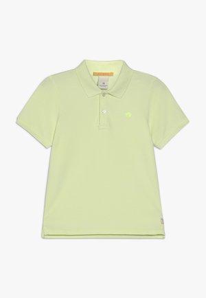 GARMENT DYED - Poloskjorter - lemonade