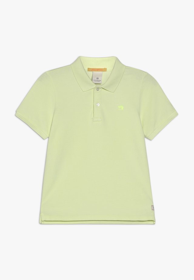 GARMENT DYED - Poloshirt - lemonade