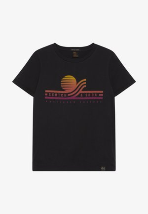 TEE WITH ARTWORK - T-shirt imprimé - antra