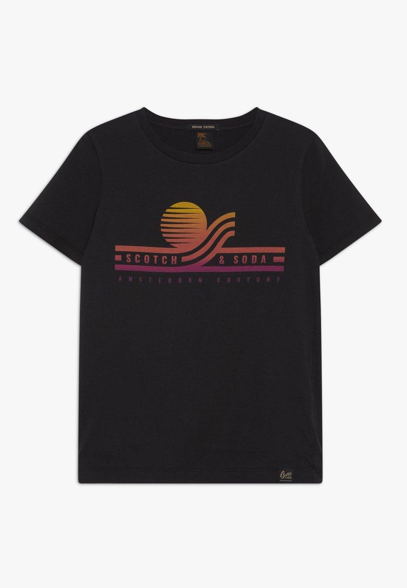 Scotch & Soda - TEE WITH ARTWORK - T-shirt print - antra