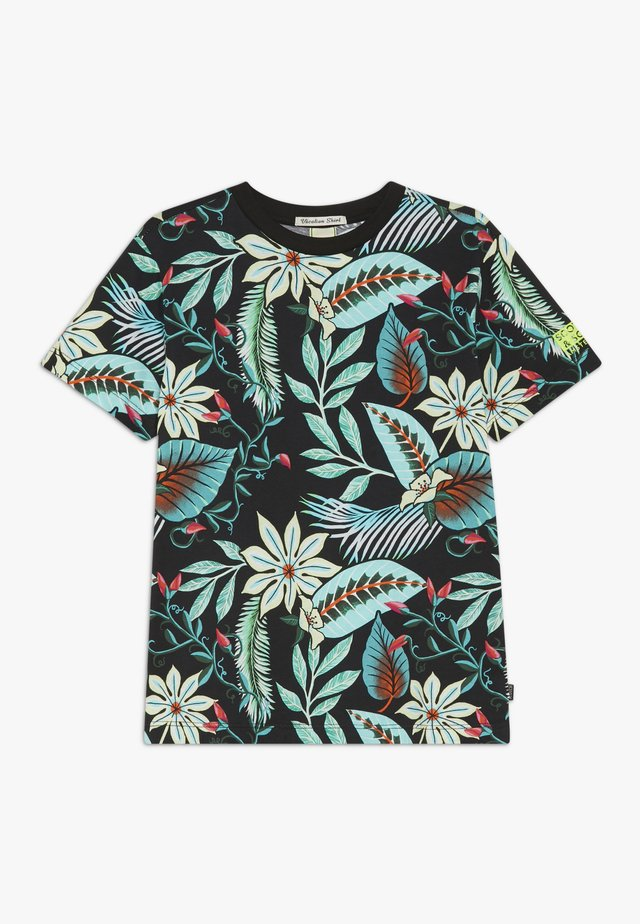 TEE WITH ALLOVER - T-shirt med print - multicoloured