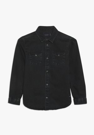 EASY WESTERN WITH SEASONAL DETAILS - Camicia - dark-blue denim