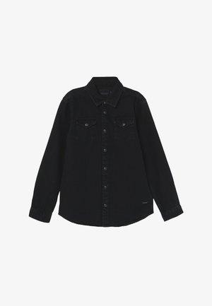 EASY WESTERN WITH SEASONAL DETAILS - Košile - black denim