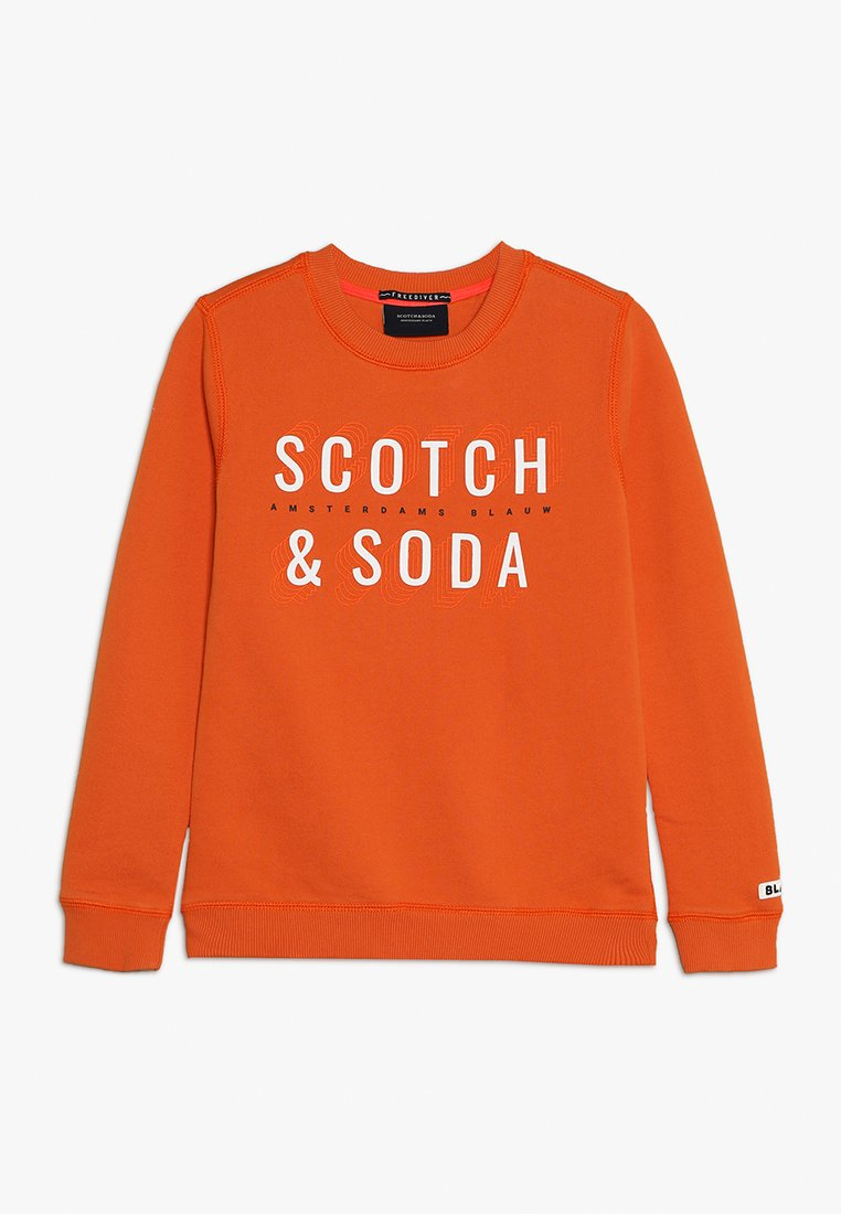 Scotch & Soda - BASIC IN REGULAR FIT - Sweatshirt - goldfish