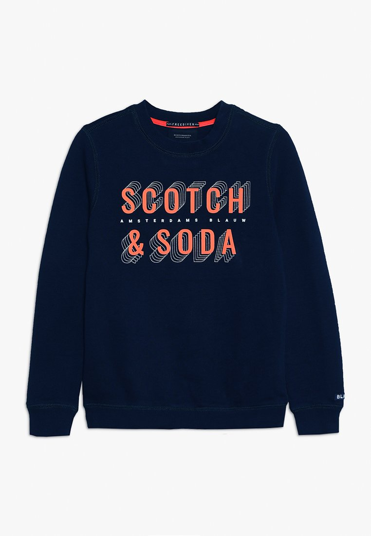 Scotch & Soda - BASIC IN REGULAR FIT - Sweatshirts - navy