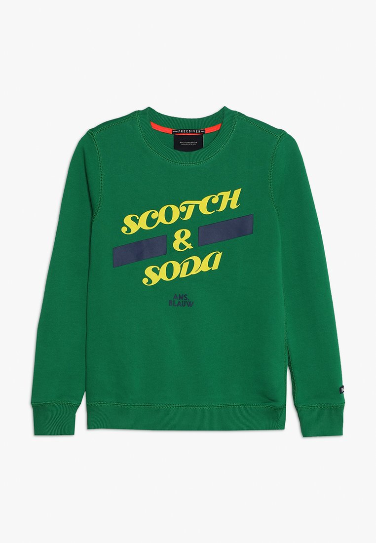 Scotch & Soda - BASIC IN REGULAR FIT - Sweatshirt - seaglass green
