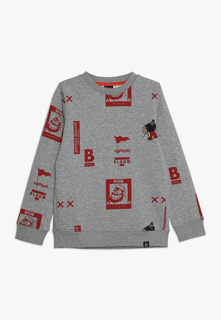 Scotch & Soda - BRUTUS - Sweater - mottled light grey