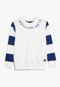 Scotch & Soda - CLUB NOMADE SIGNATURE EASY CREWNECK - Sweater - off white - 0