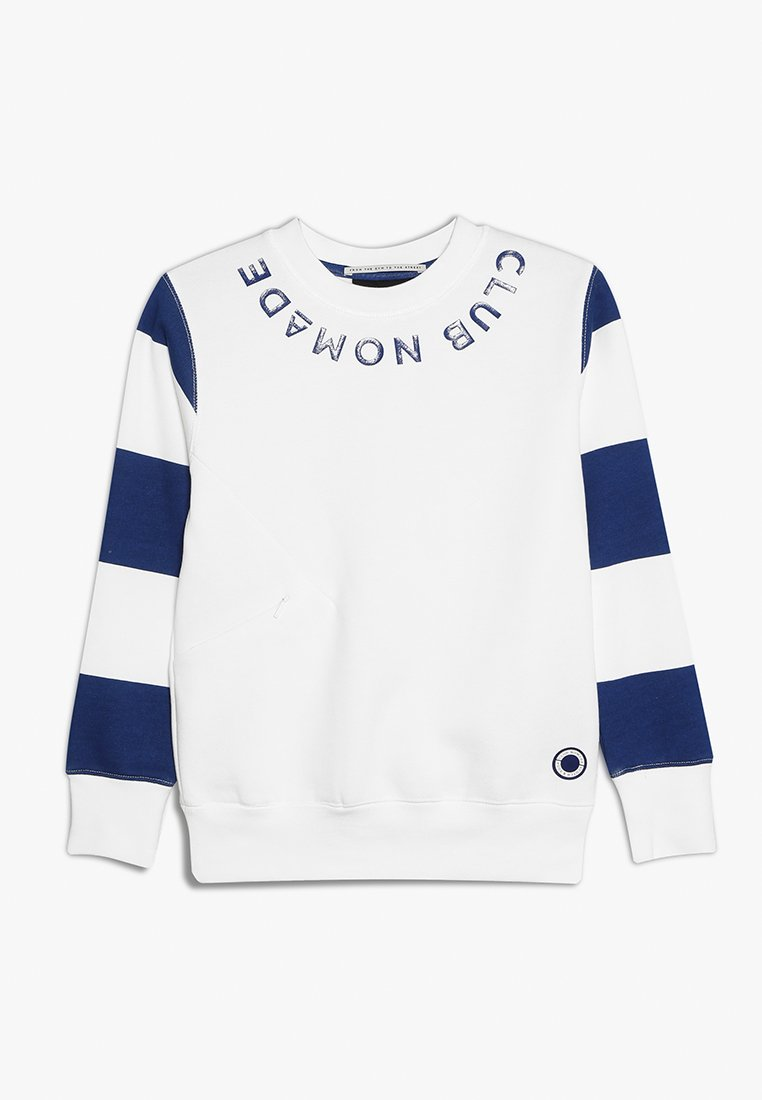 Scotch & Soda - CLUB NOMADE SIGNATURE EASY CREWNECK - Sweater - off white