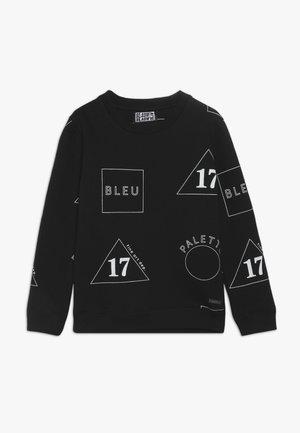 ALL OVERPRINTED CREWNECK - Sweater - black